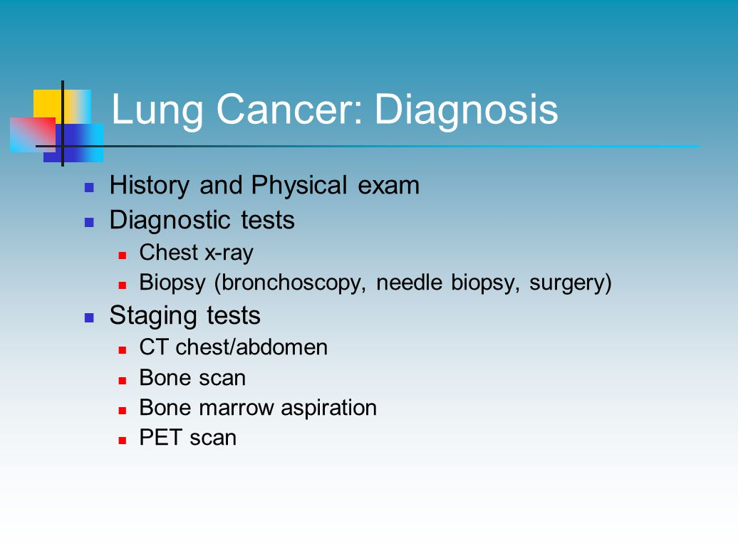 Lung Cancer: Diagnosis