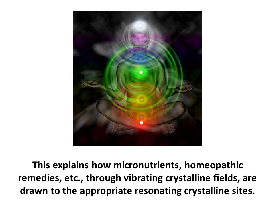 This explains how micronutrients, homeopathic remedies, etc