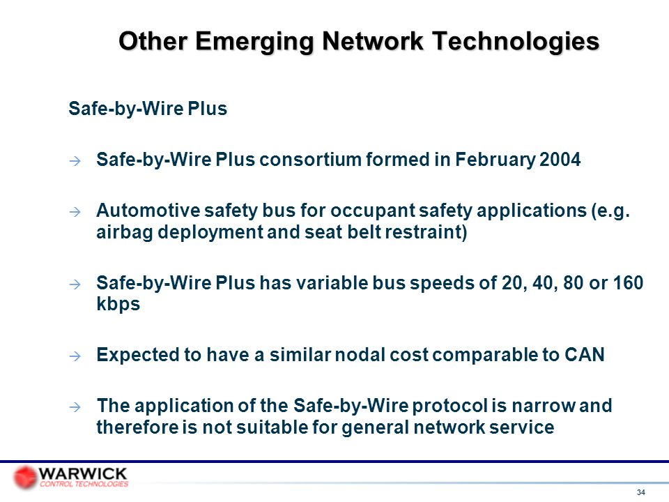 Other Emerging Network Technologies