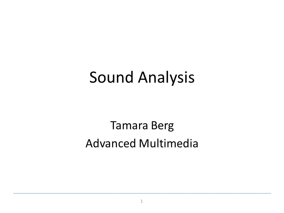 Tamara Berg Advanced Multimedia