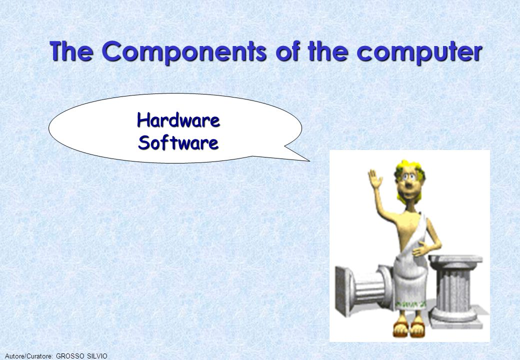 The Components of the computer