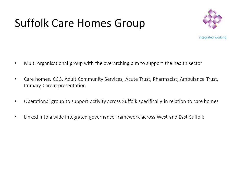 Suffolk Care Homes Group