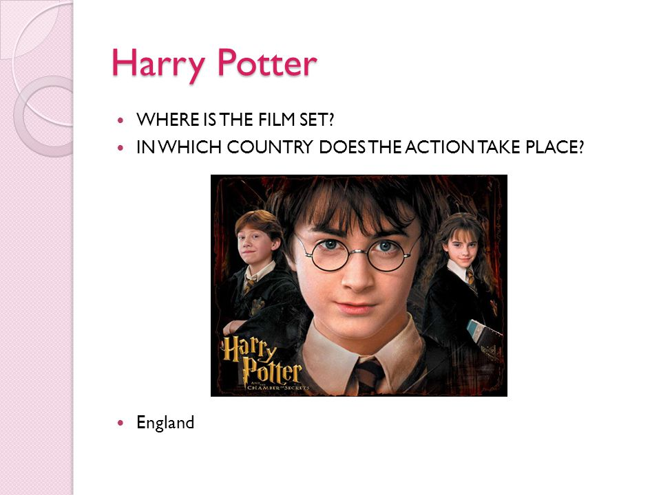 Harry Potter WHERE IS THE FILM SET