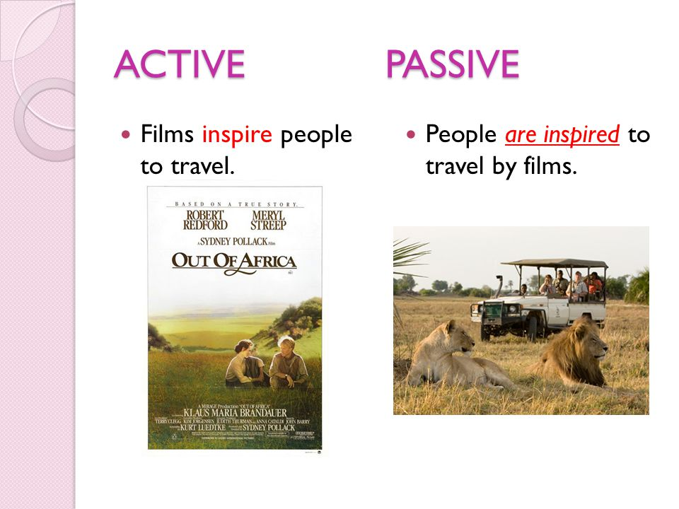 ACTIVE PASSIVE Films inspire people to travel.