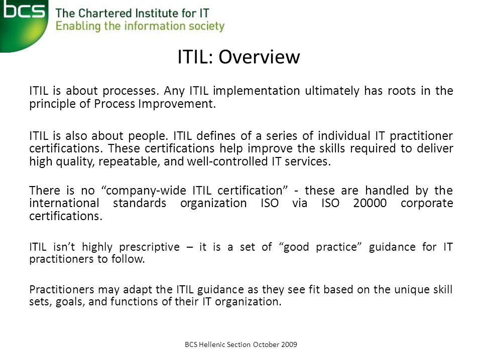 Understanding Itil E Systems Forum 2009 October 16 Ppt Video Online