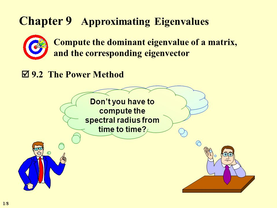 Chapter 9 Approximating Eigenvalues
