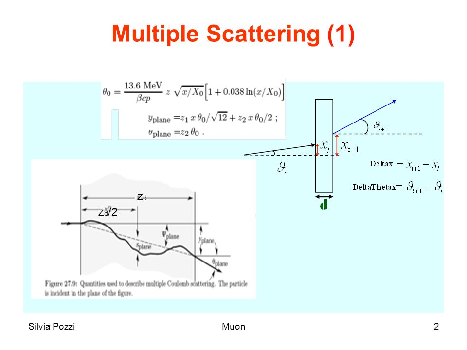 Multiple Scattering (1)
