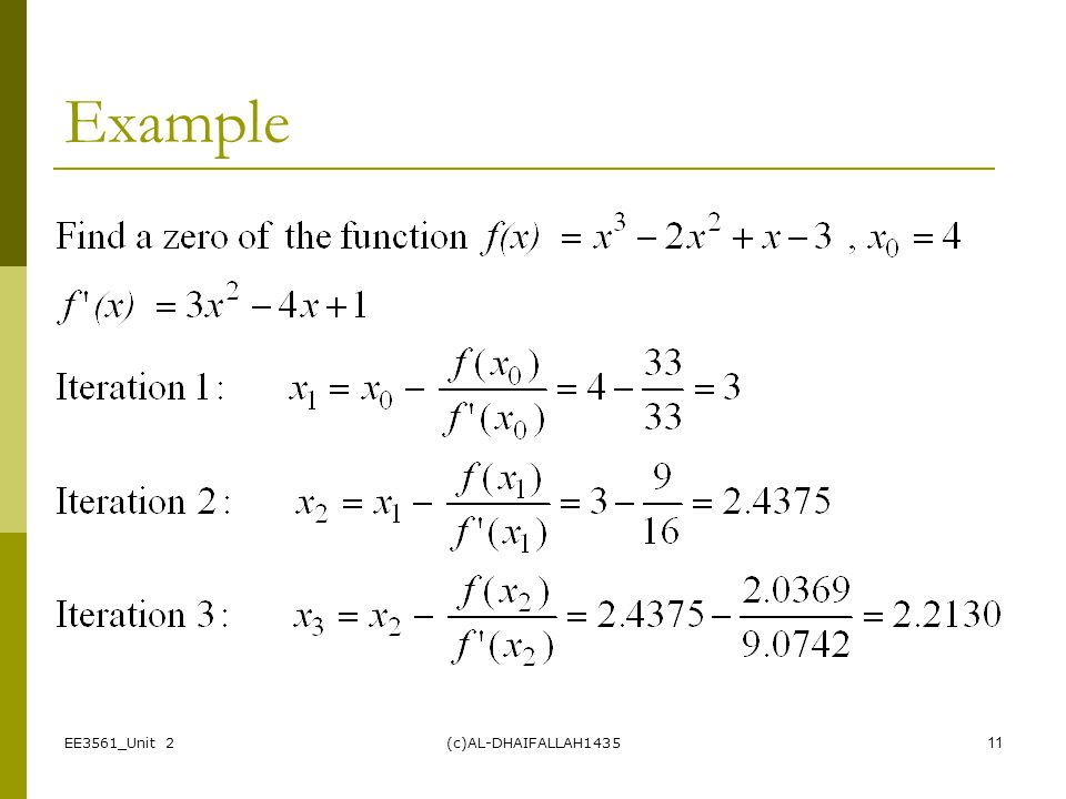 Lecture 5 Newton-Raphson Method - ppt video online download