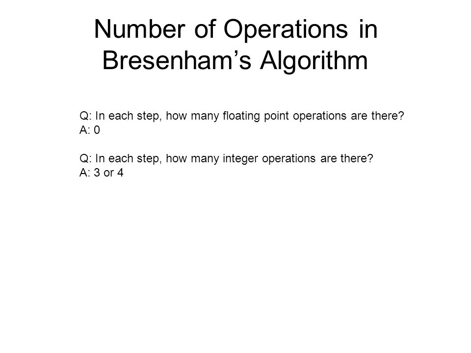 Bresenham Line Drawing Algorithm For Negative Slope Examples : Line drawing algorithms ppt video online download