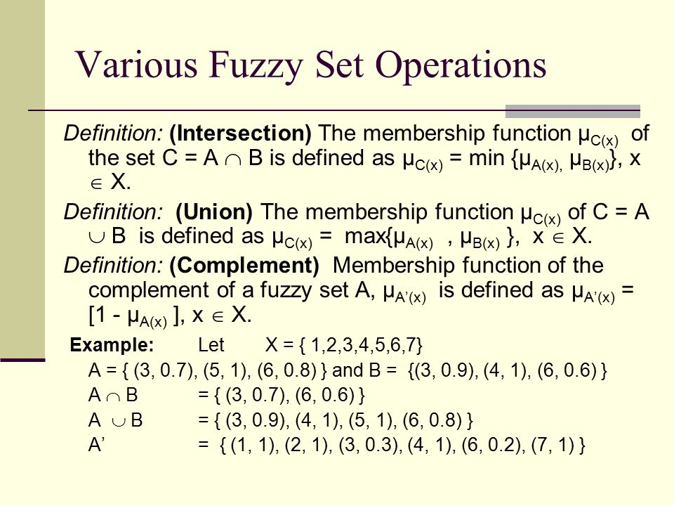 Fuzzy sets and fuzzy logic theory and applications ppt video.