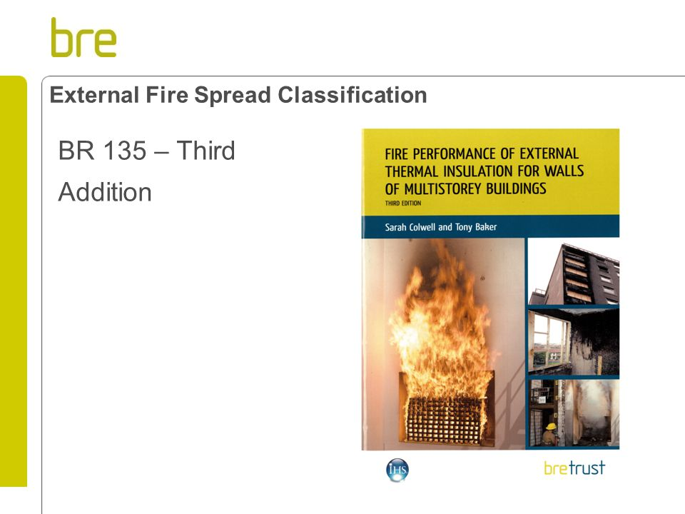 External Fire Spread Classification