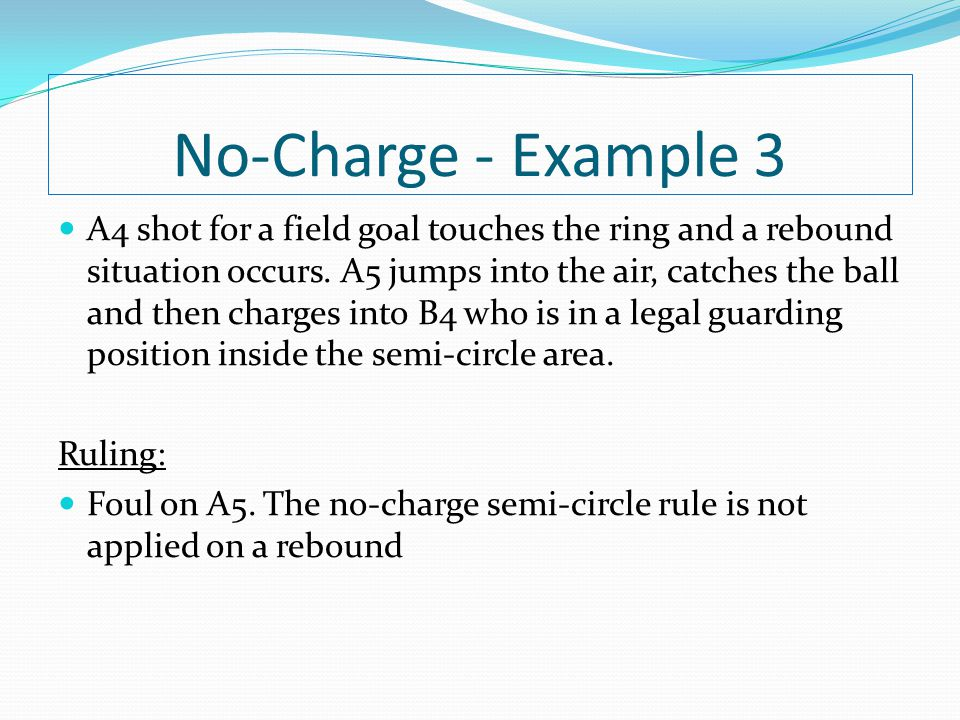 No-Charge - Example 3