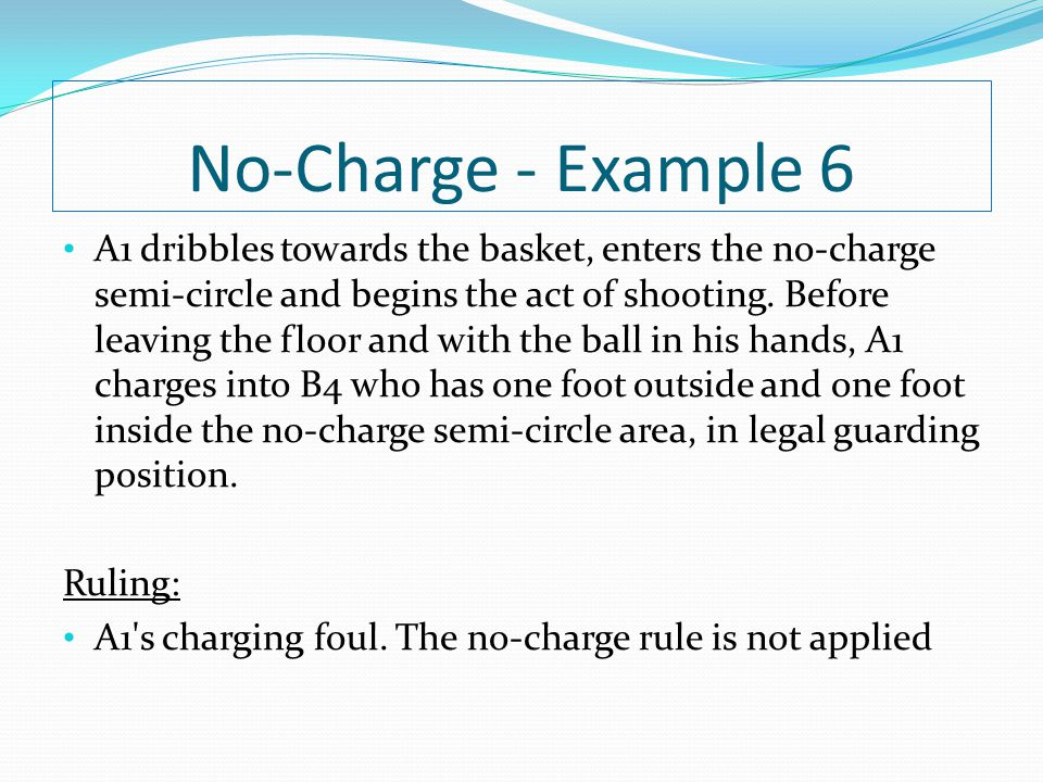 No-Charge - Example 6