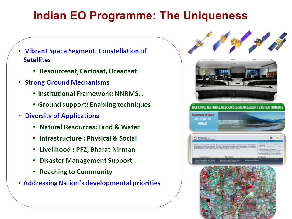 Indian EO Programme: The Uniqueness