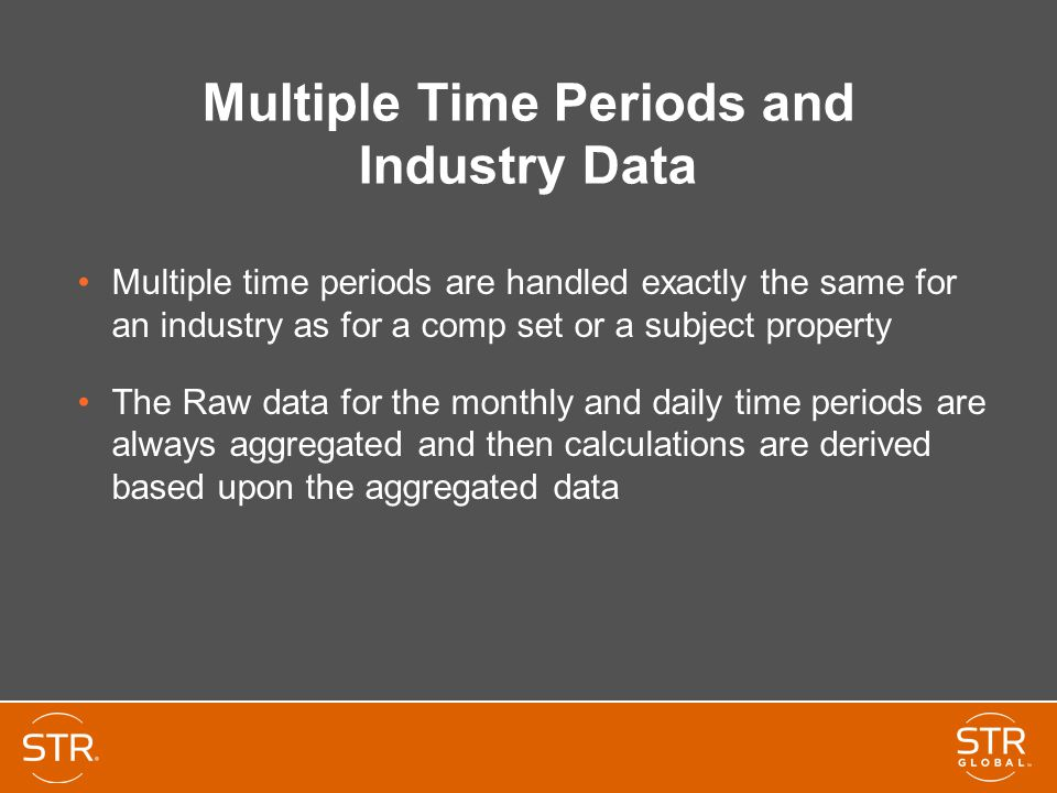 Multiple Time Periods and Industry Data