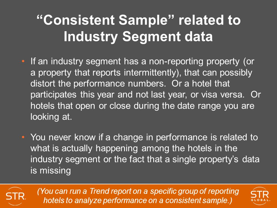 Consistent Sample related to Industry Segment data