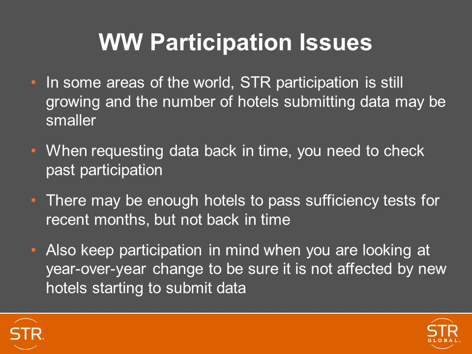 WW Participation Issues