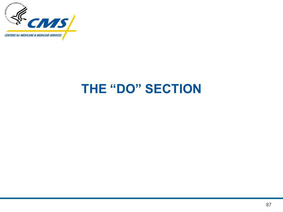 THE DO SECTION