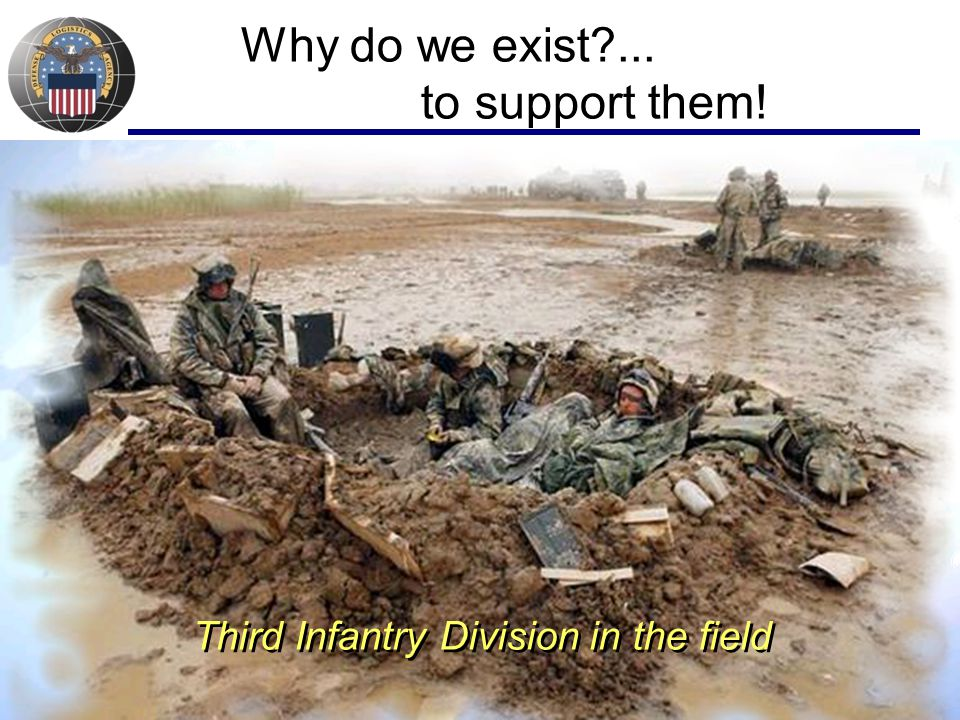 Why do we exist ... to support them!