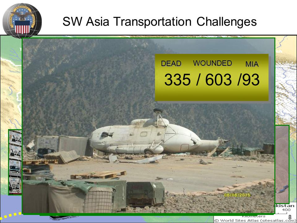 SW Asia Transportation Challenges