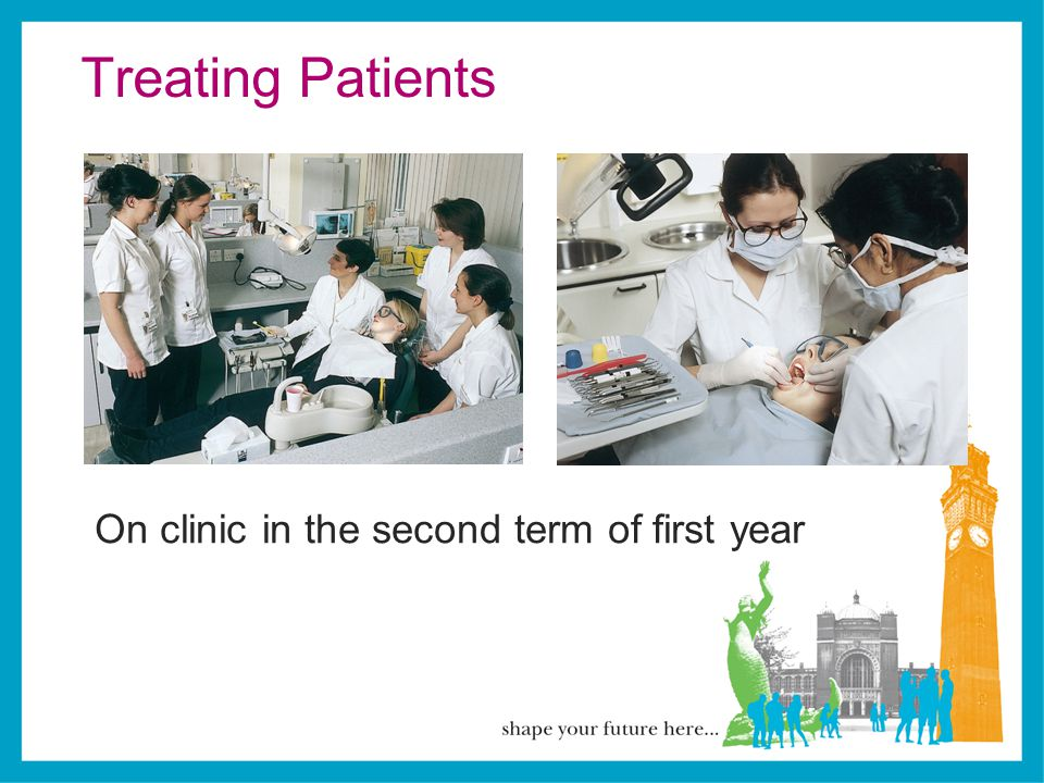 Treating Patients On clinic in the second term of first year