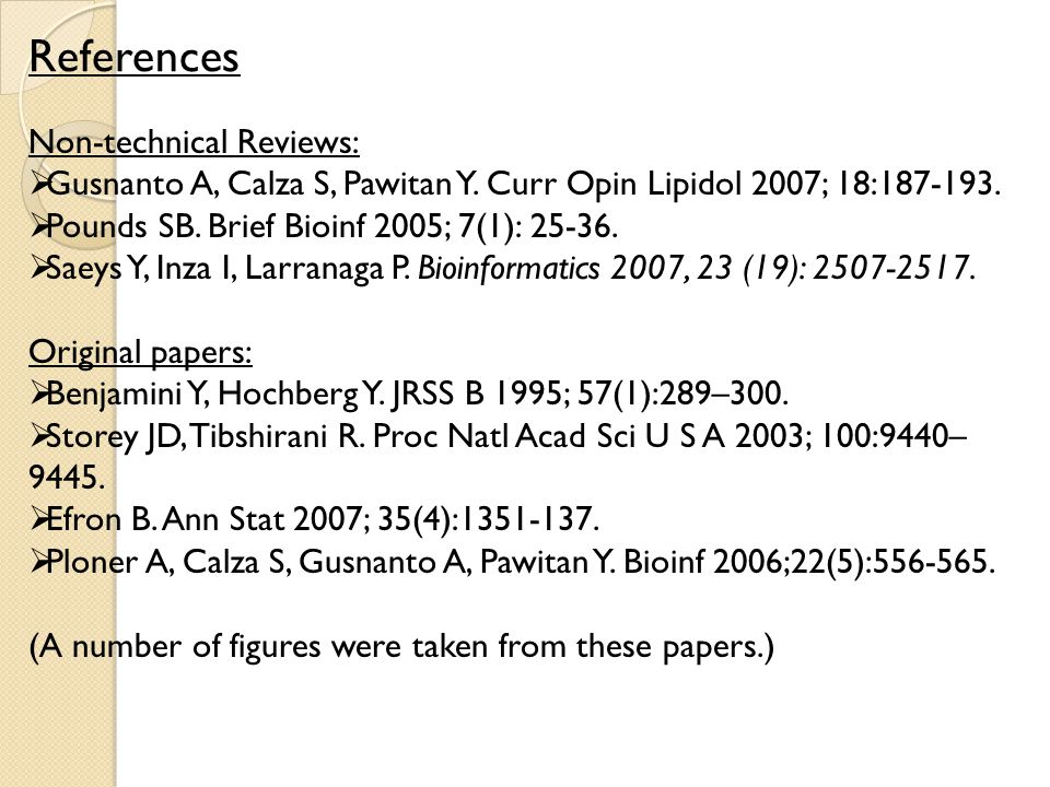 References Non-technical Reviews: