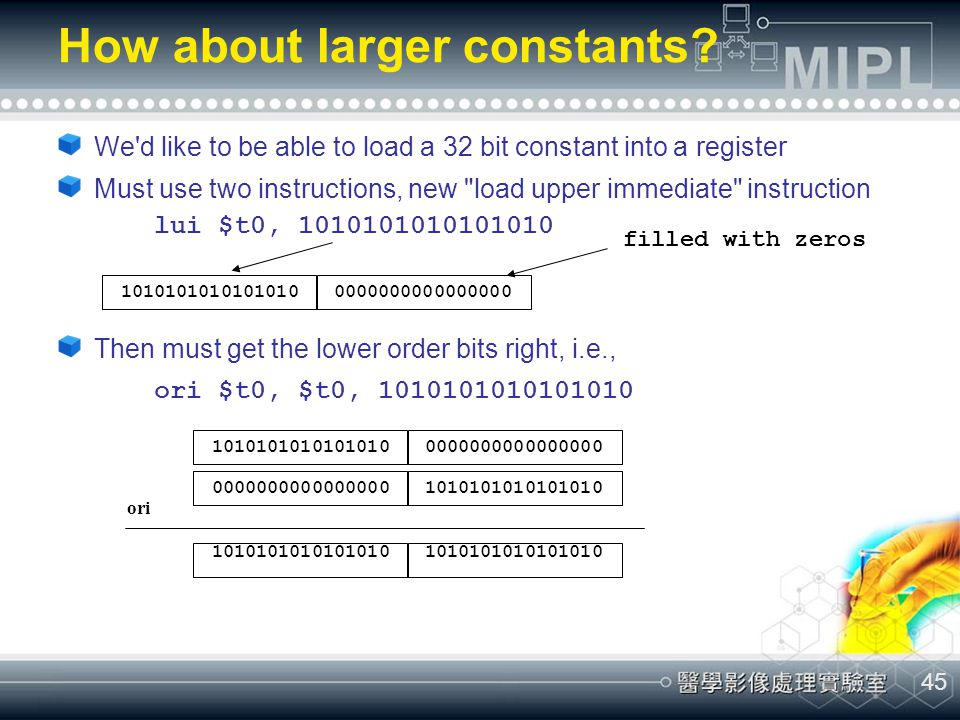 How about larger constants