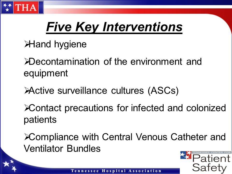 Five Key Interventions