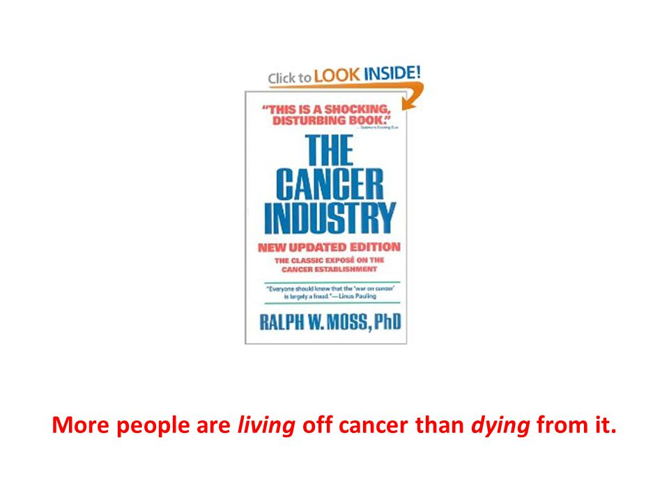 More people are living off cancer than dying from it.