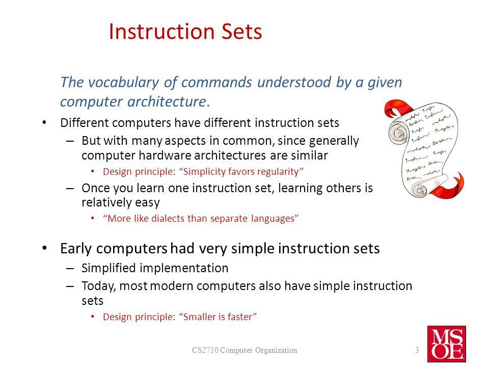Instruction Set Intro Ppt Video Online Download