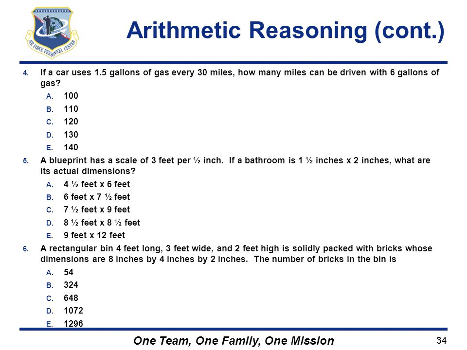 Arithmetic Reasoning (cont.)