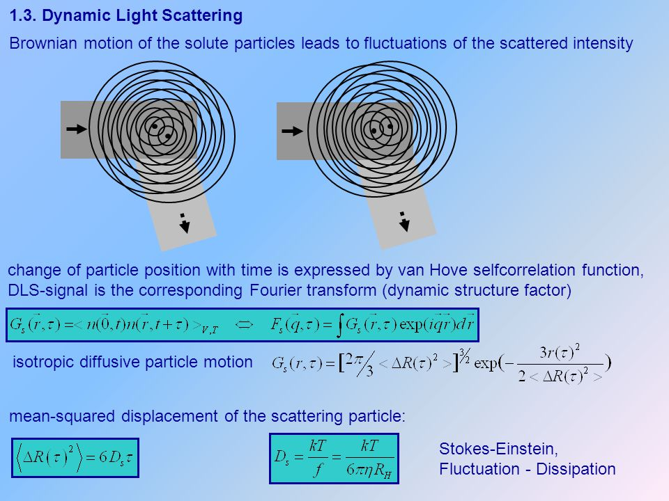 1.3. Dynamic Light Scattering