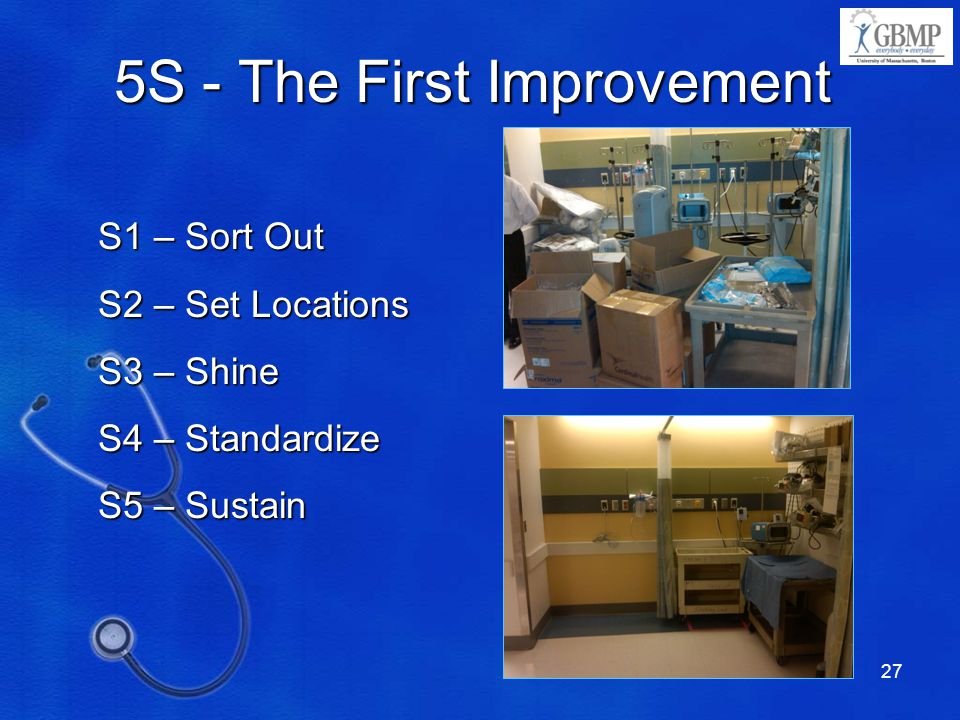 5S - The First Improvement