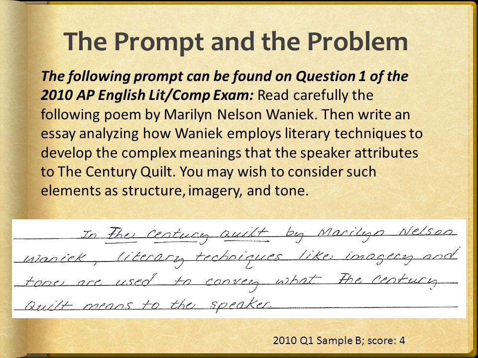 The Prompt and the Problem