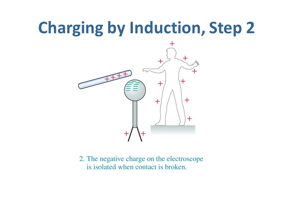 Charging by Induction, Step 2
