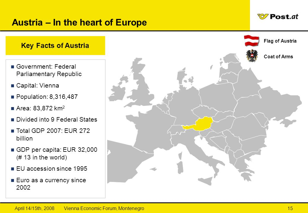 Austria – In the heart of Europe