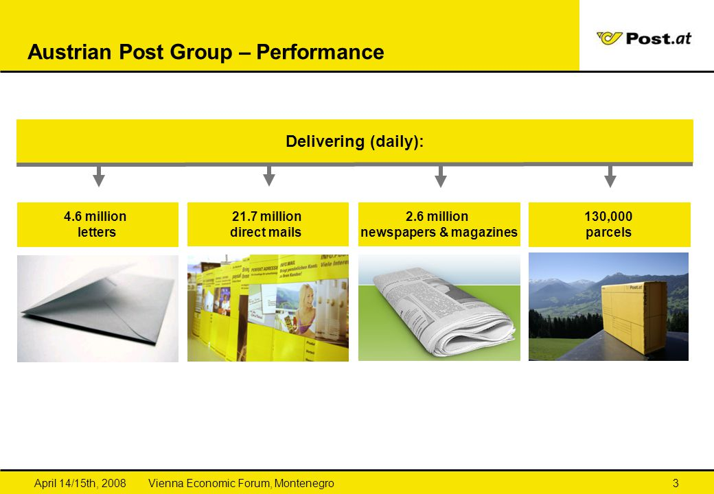 Austrian Post Group – Performance