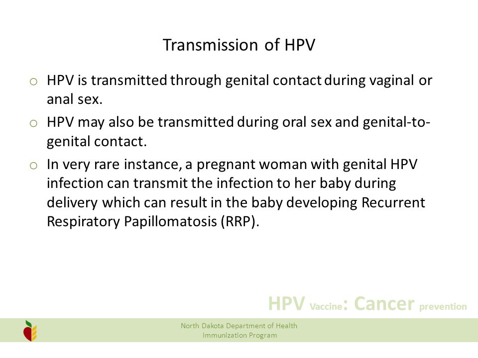 Opinion Hpv transmitted thru sexual intercourse can