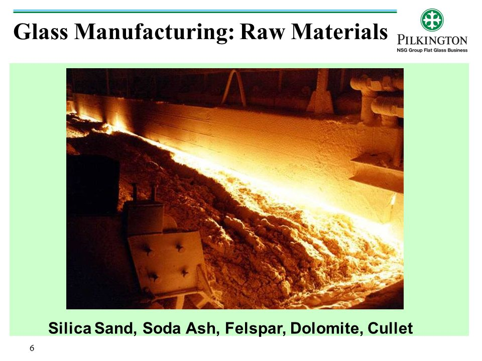 Glass Manufacturing: Raw Materials