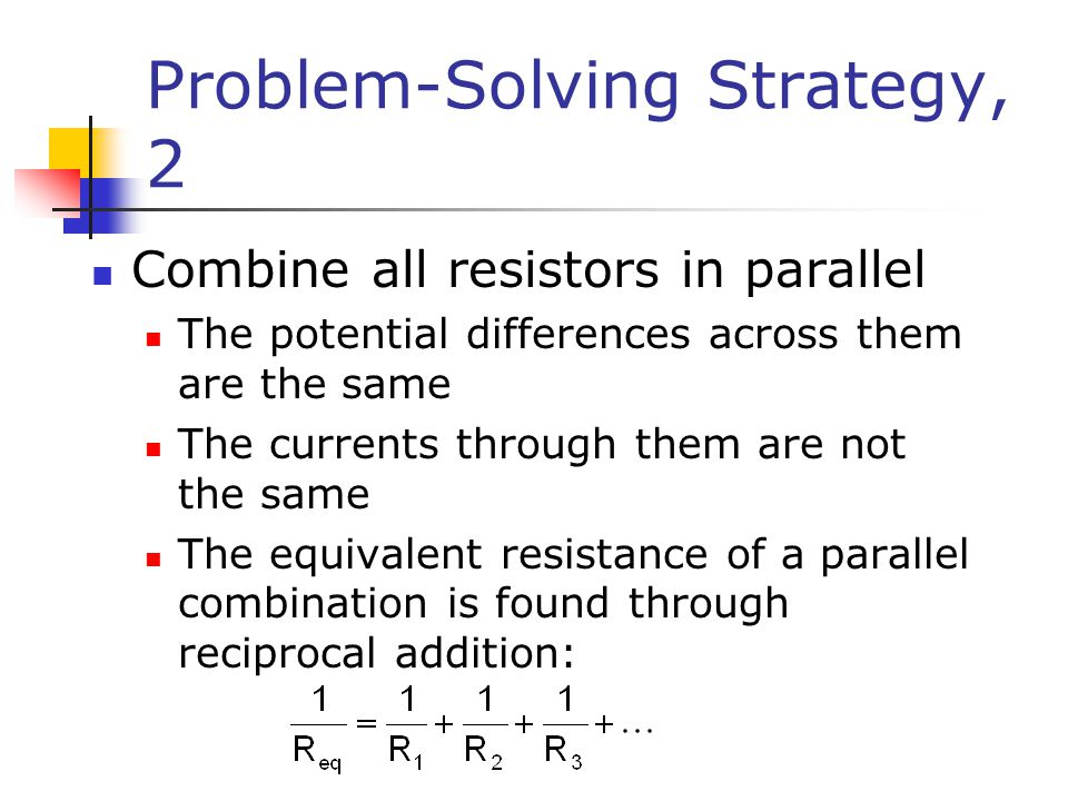 Problem-Solving Strategy, 2