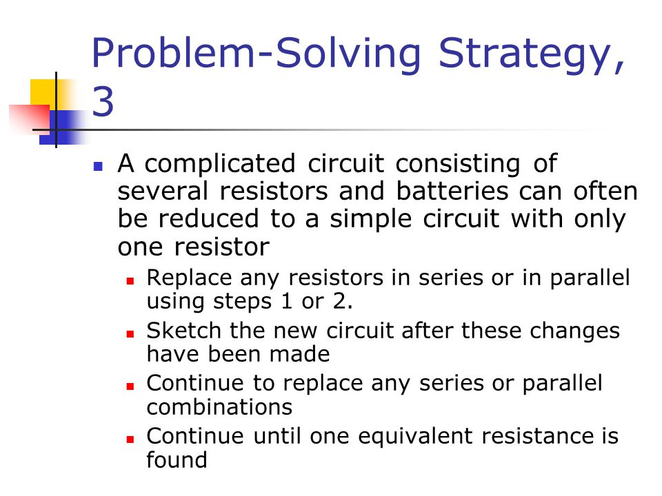 Problem-Solving Strategy, 3