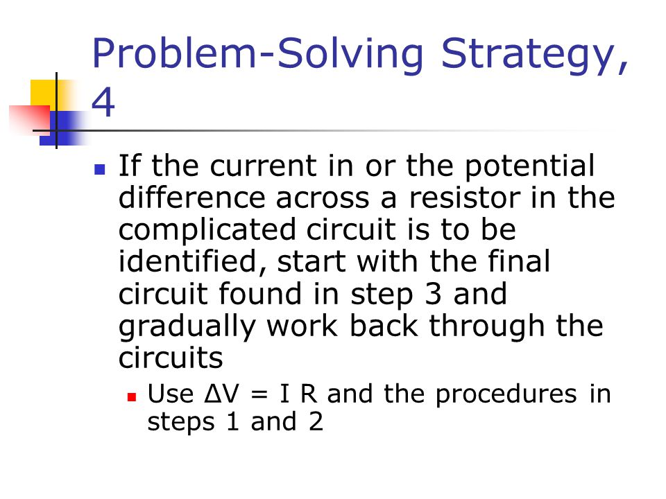 Problem-Solving Strategy, 4