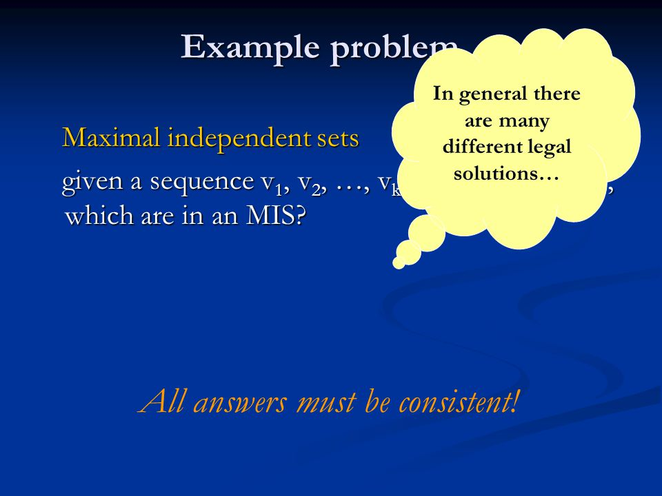 In general there are many different legal solutions…