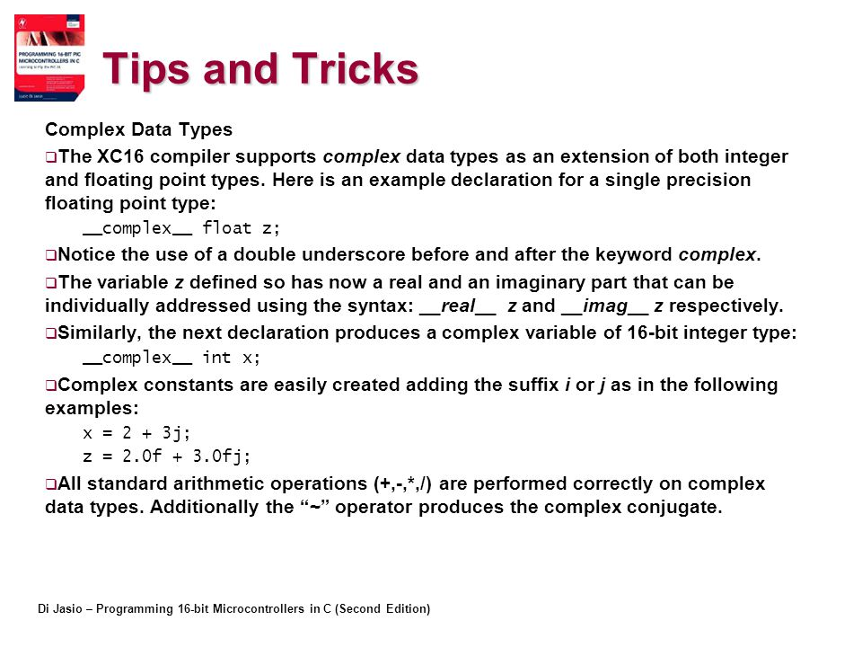 Tips and Tricks Complex Data Types