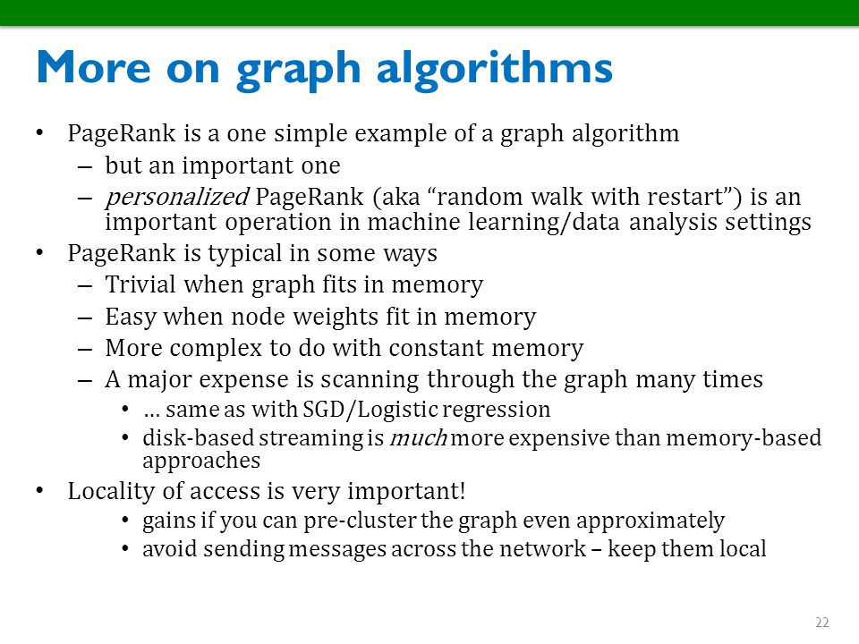 More on graph algorithms
