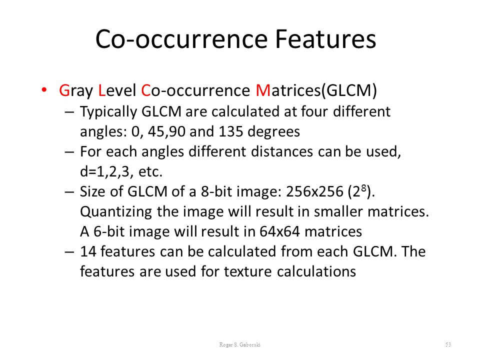 Introduction to Computer Vision Image Texture Analysis - ppt