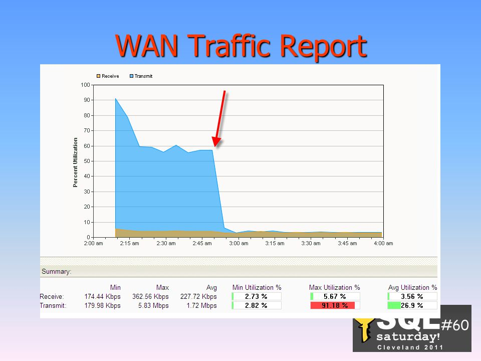WAN Traffic Report