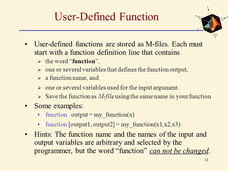 User-Defined Function