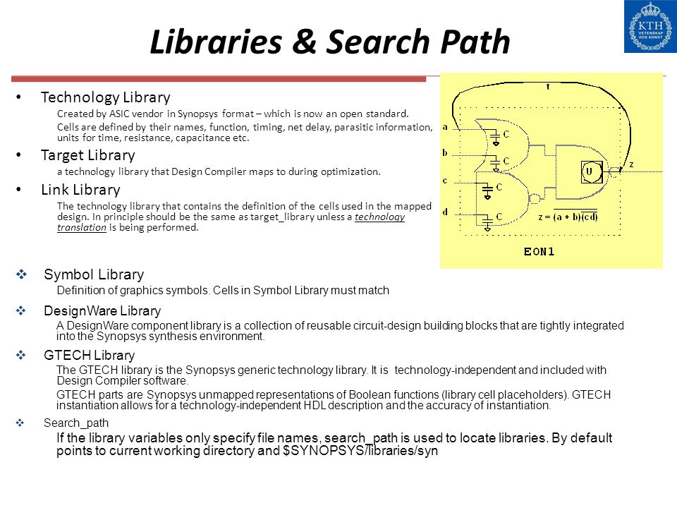 Libraries & Search Path