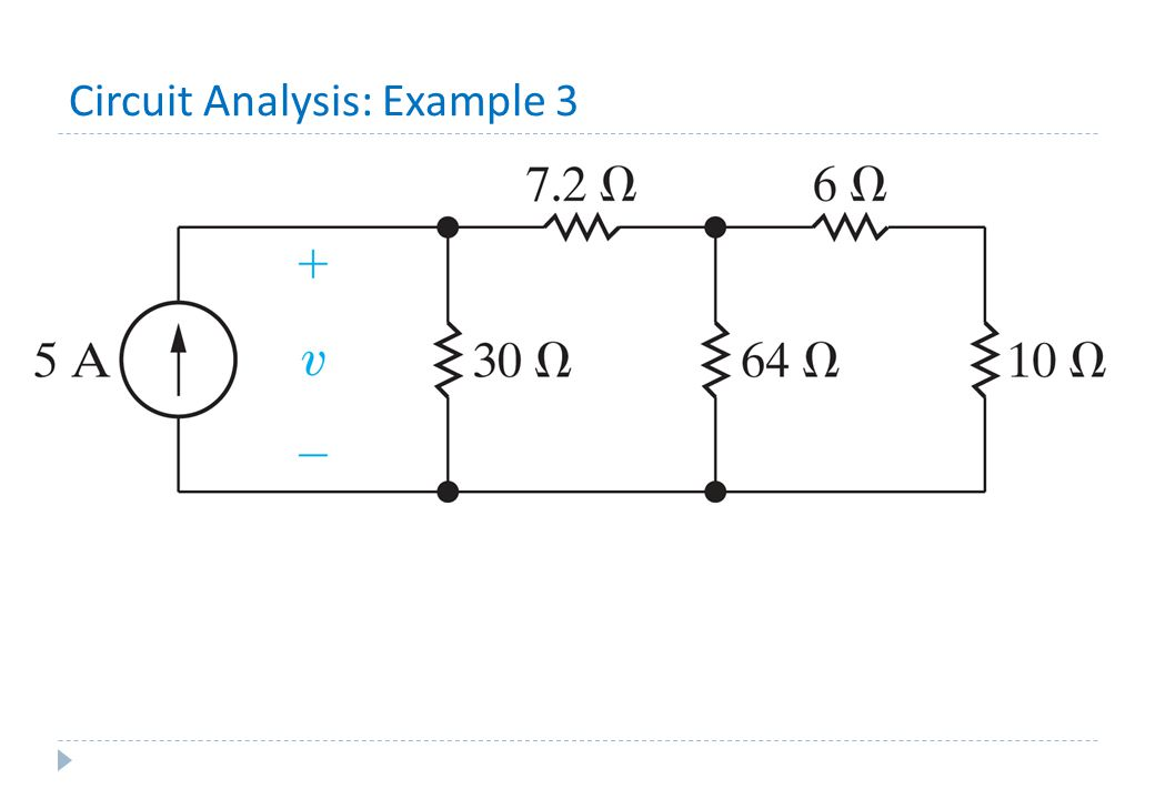 Circuit Analysis: Example 3